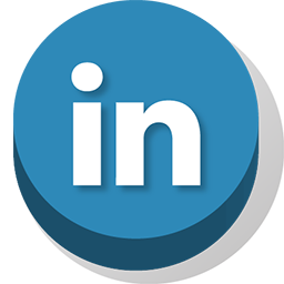 buttonz, linkedin icon