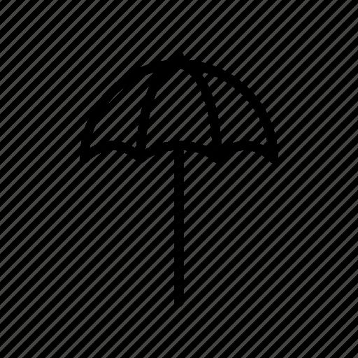 beach, sea, seaside, shade, shadow, summer, umbrella icon