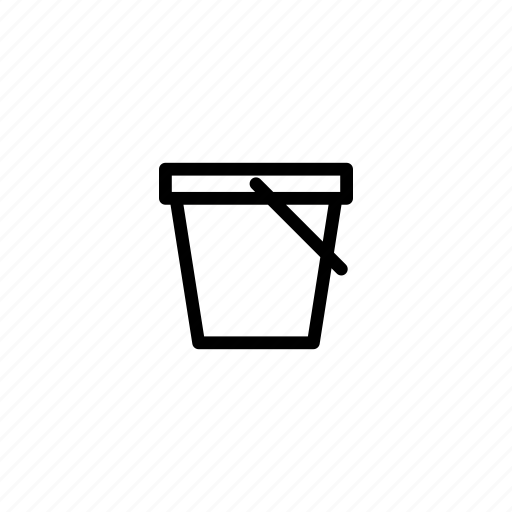 bucket, castle, game, play, sand, sand castle, tool icon