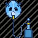 healthcare, hospital, mask, medical, nebulizer, oxygen, oxygen mask
