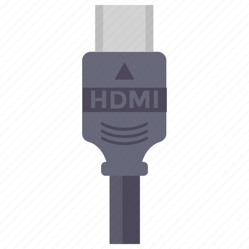 computer cable, data cable, hdmi cable, video cable, video wire icon