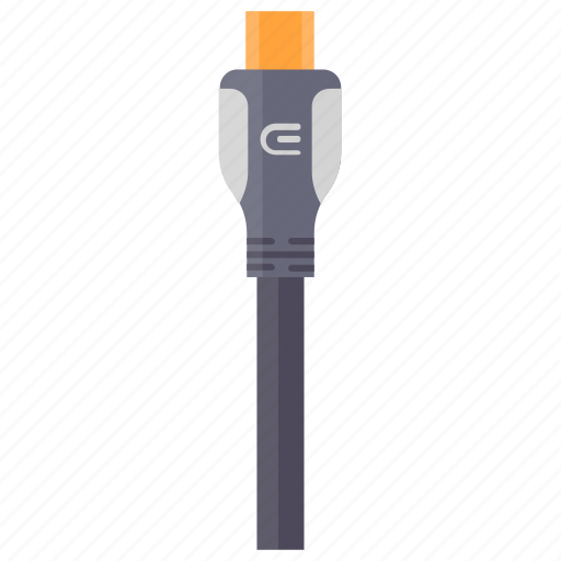 charging cable, computer cable, data cable, mini usb, portable usb icon