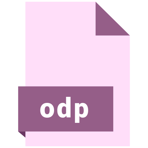 file, format, odp icon