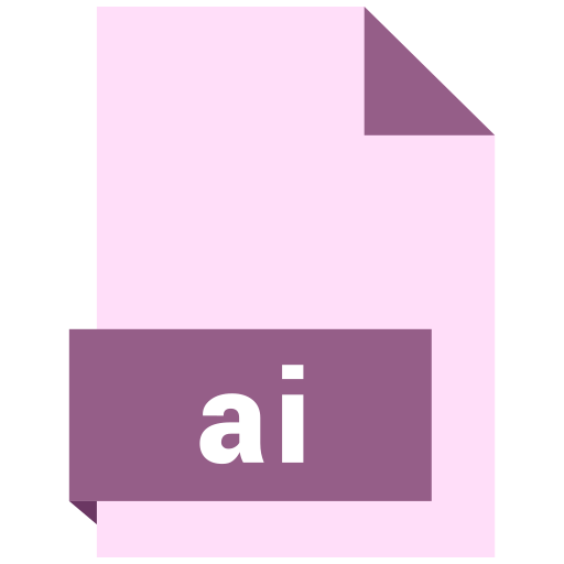 ai, file, format icon