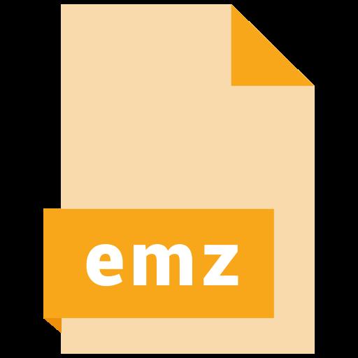emz, file, format icon