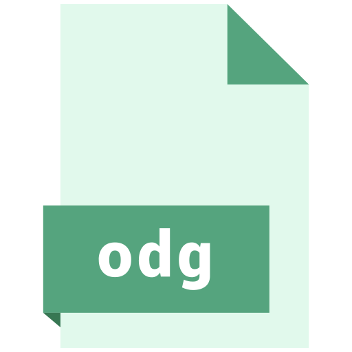 file, format, odg icon
