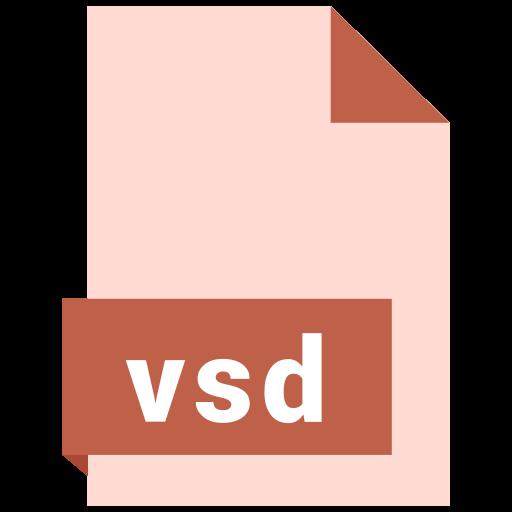 file, format, vsd icon