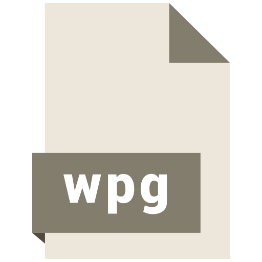 file, format, wpg icon