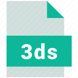 3ds, cad file format icon