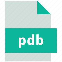 database file format, pdb icon