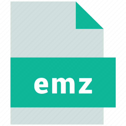 emz, vector image file format icon