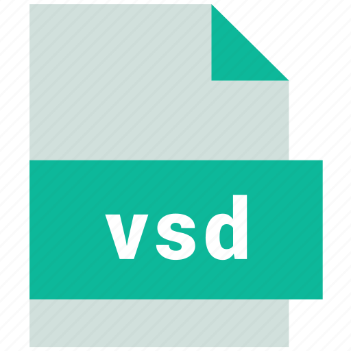 vector image file format, vsd icon