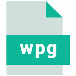 vector image file format, wpg icon