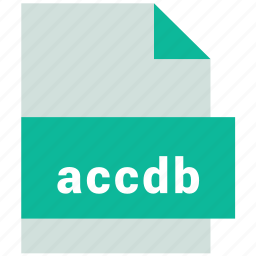 accdp, database file format icon
