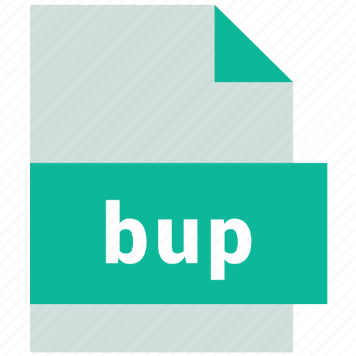 bup, database file format icon