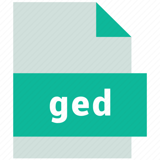 database file format, ged icon