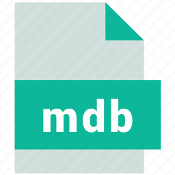 database file format, mdb icon