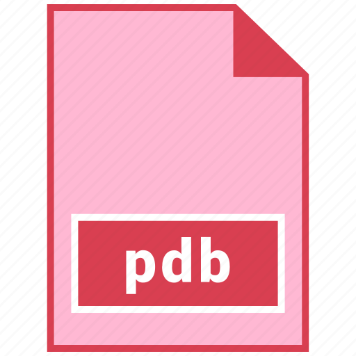 file format, pdb icon
