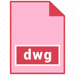 dwg, file format icon
