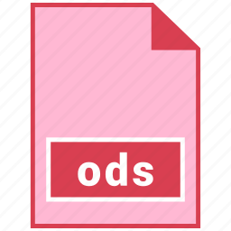 file format, ods icon