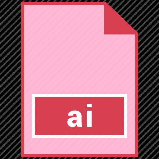 ai, file format icon