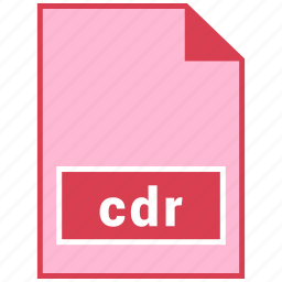 cdr, file format icon