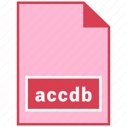 accdb, file format icon