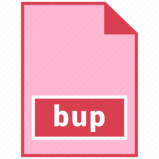 bup, file format icon