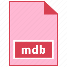 file format, mdb icon