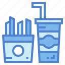 fast, food, junk, snack icon