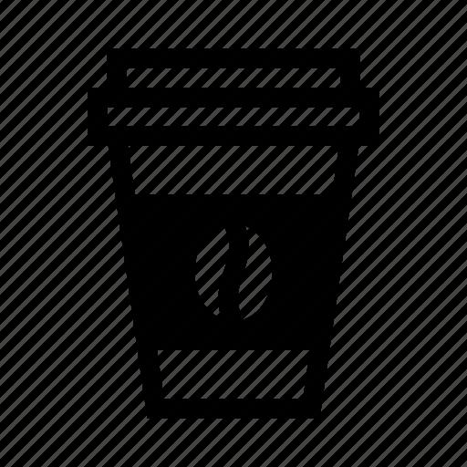 cardboardcup, coffeetub, gocup, papercup, tub icon