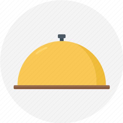 cloche, clocher, covering, food cover, hot icon