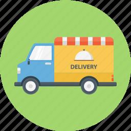 delivery, food, food delivery, food truck, truck icon
