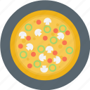 italian, italian food, pizza, plate icon