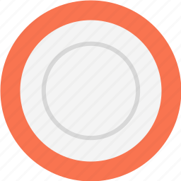 plate, platter icon
