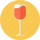 glass, red wine, wine, wine glass icon