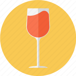 glass, red wine, wine, wine glass icon