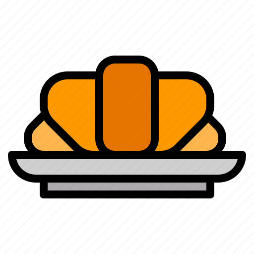 Cafe, coffee, croissant, restaurant icon - Download on Iconfinder