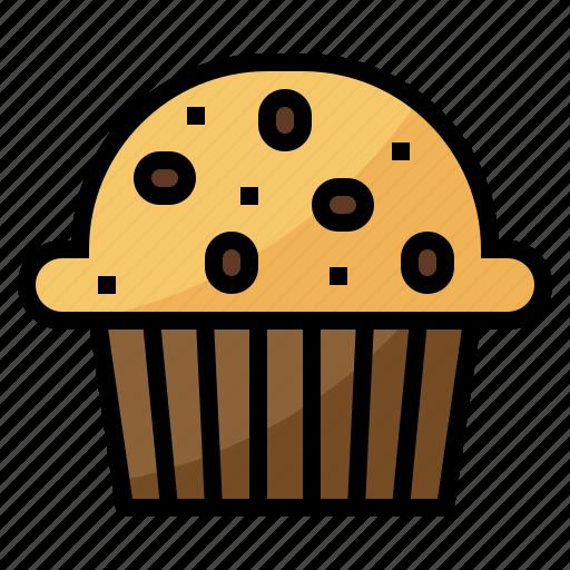 cafe, dessert, muffin, restaurant icon