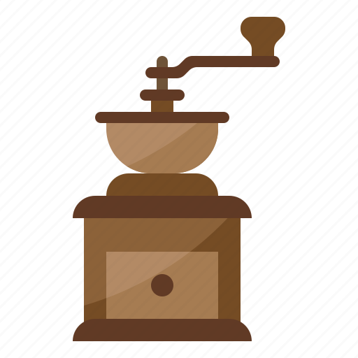 cafe, coffee, grinder, restaurant icon