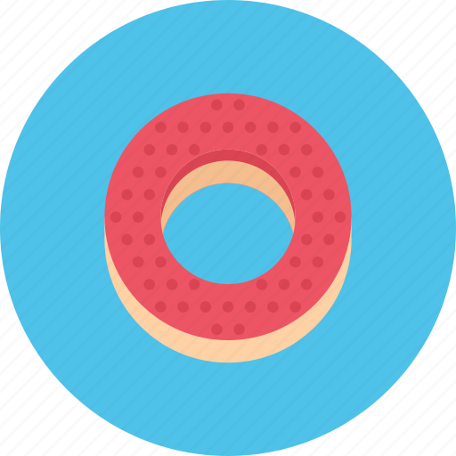 bagel, candy, coffee shop, food, sweet shop icon