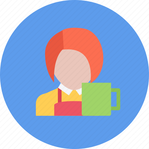 barista, candy, coffee shop, food, sweet shop icon