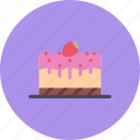cake, candy, coffee shop, food, sweet shop icon