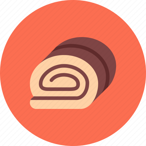 candy, chocolate, coffee shop, food, roll, sweet shop icon