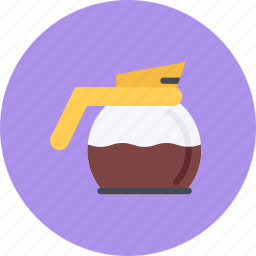 candy, coffee, coffee shop, food, pot, sweet shop icon