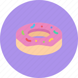 candy, coffee shop, donut, food, sweet shop icon