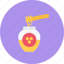 candy, coffee shop, food, honey, sweet shop icon