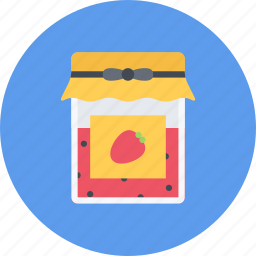 candy, coffee shop, food, jam, sweet shop icon
