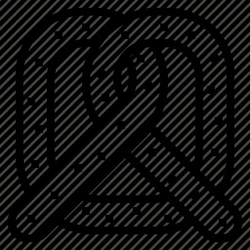 Cafe, coffee, pretzel, restaurant icon - Download on Iconfinder