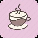 cafe, coffee, coffeeshop, drink, espresso, hot, tea icon